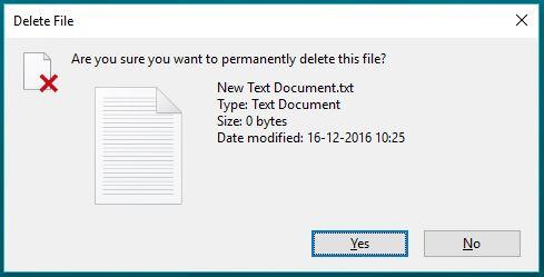 Végleges törlés után visszaállítás? Már a Windows is tudja! :D